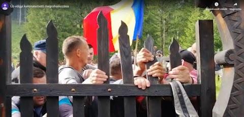 Cenzúrázta a Facebook az úzvölgyi vandálokat mutató videót