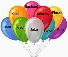 Hasil carian imej untuk write your name in the  ballon