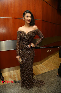 Actress Shruthi Hassan Pictures in Long Dress at Premam Movie Audio Launch  0048.JPG