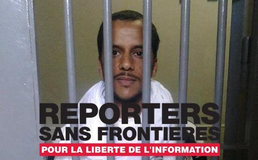 Reporteros sin Fronteras exige a Marruecos poner en libertad a Mohamed Lamin Haddi y llama la atención por su delicado estado de salud.