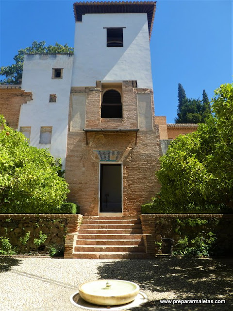 visitar el Generalife Alhambra Granada