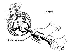 repair-manuals: Peugeot 404 1968-70 Drive Axles Repair Guide