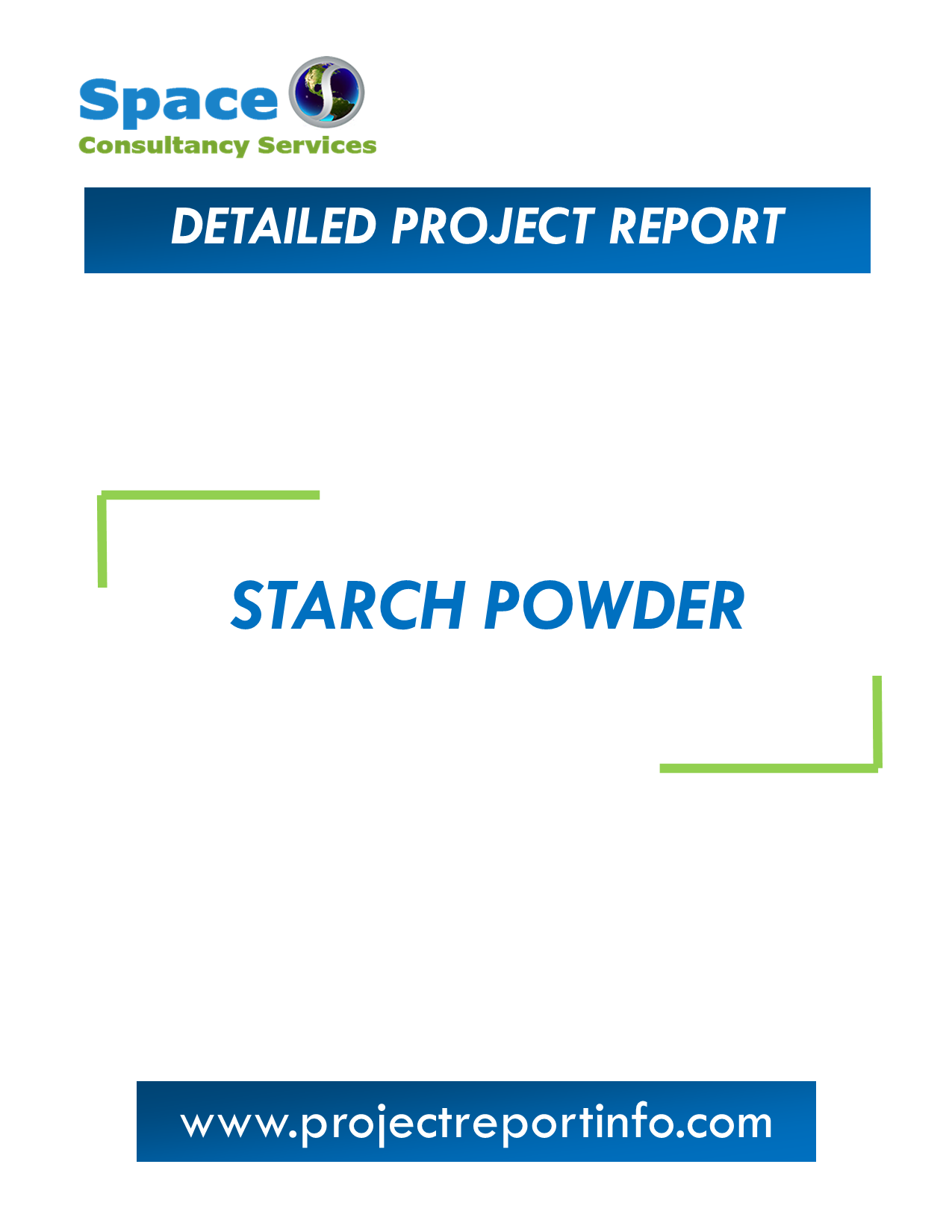 Project Report on Starch Powder Manufacturing