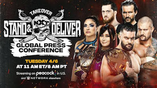 Download WWE NXT 7th April 2021 TakeOver Stand & Deliver HDTV