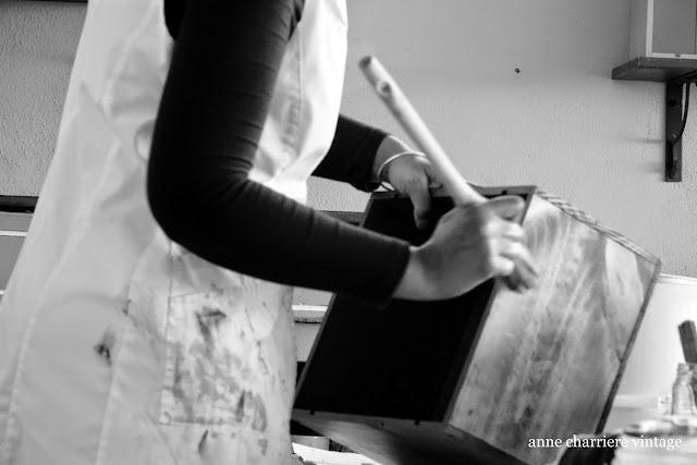 www.annecharriere.com, anne charriere, sobre mi, l'atelier d'anne, benahavis, taller pintura,