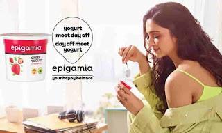 Deepika Padukone Promote Epigamia Brand
