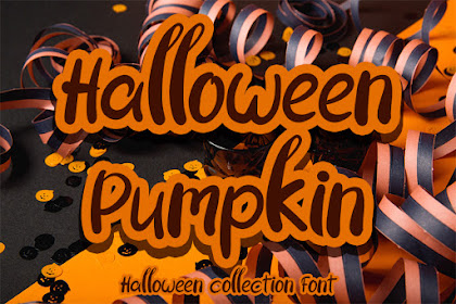Halloween Pumpkin Font - Best Halloween Font fot Your Business