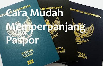 Cara Mudah Perpanjang Paspor Terbaru Cukup Dengan Bawa eKTP Dan Paspor Lama
