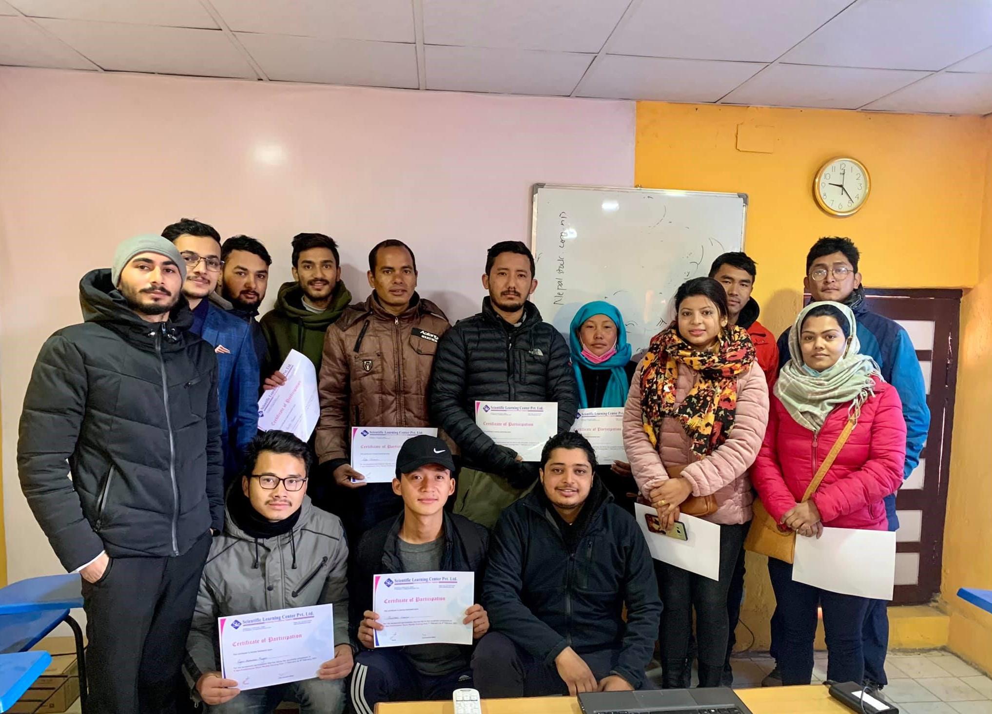 share training in nepal