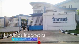 Lowongan kerja PT Framas Indonesia Terbaru 2020