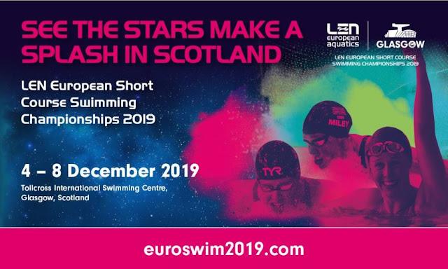 NATACIÓN - Campeonato de Europa en piscina corta femenino 2019 (Glasgow, Escocia)