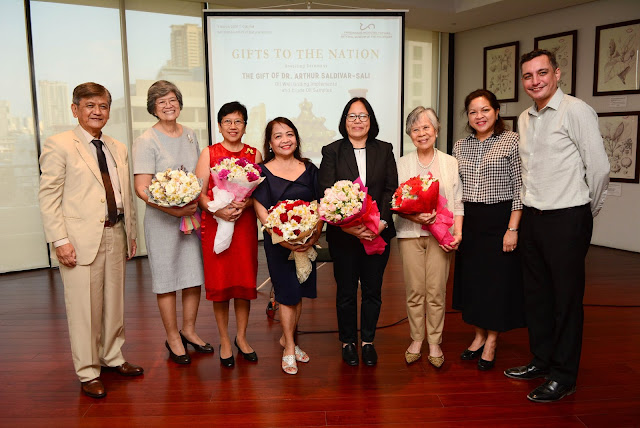 NMP DG Barns,DDG-Museums Dr. Labrador, Dr. Saldivar-Sali and the four recognized notable women in the energy sector