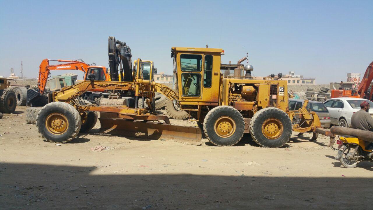 Rafiq Brothers Cat 140g Motor Grader For Sale In Karachi