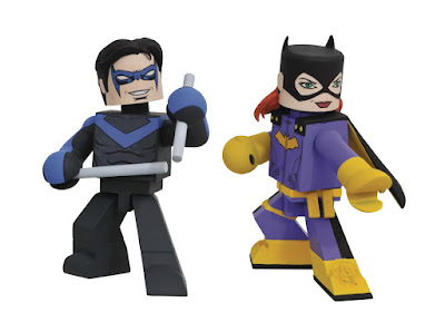 Free Comic Book Day 2018 Exclusive DC Comics Nightwing & Batgirl Vinimates Vinyl Figure 2 Pack by Diamond Select Toys