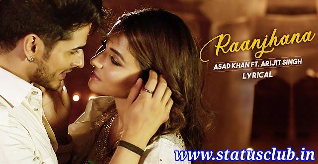 Raanjhana Lyrics | Hina Khan Song | Priyank Sharma | Arijit Singh.