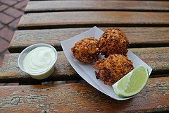 Peppery Breadfruit Fritters photo by istolethetv