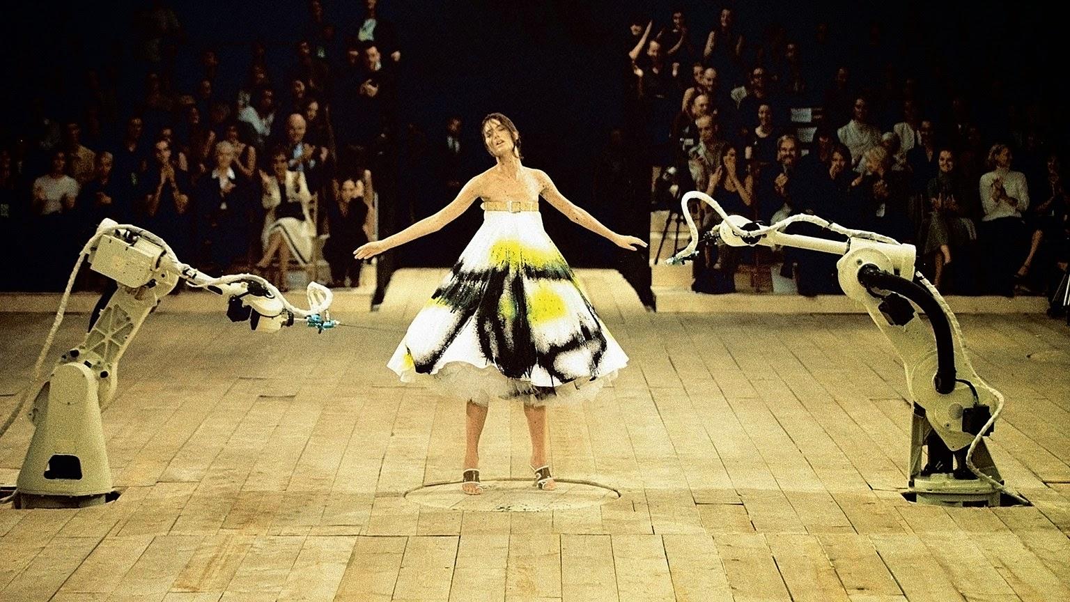 No. 13 dress Alexander McQueen