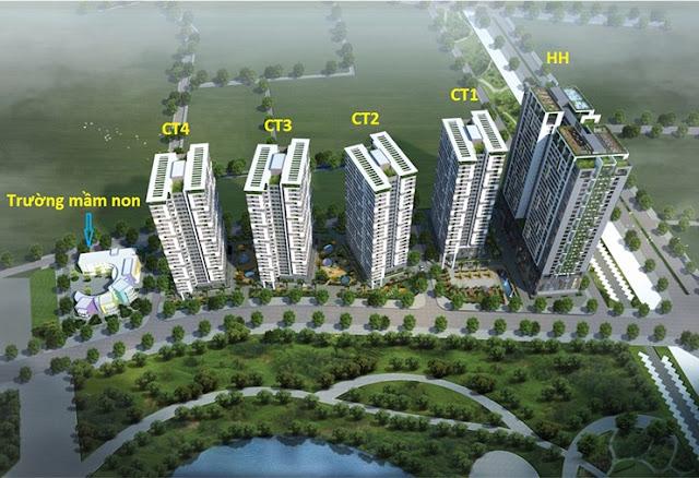 Chung cư 43 Phạm Văn Đồng - Tòa HH