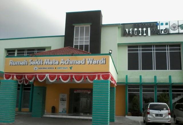 Wapres K.H Ma'ruf Amin Akan Resmikan Rumah Sakit Mata Achmad Wardi-Banten