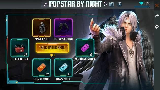 cara dapat bundle popstar by night dan tas sayap