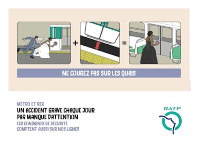 パリ メトロ広告
