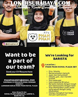 We Are Hiring at Phan Phan Royal Plaza Surabaya Agustus 2020