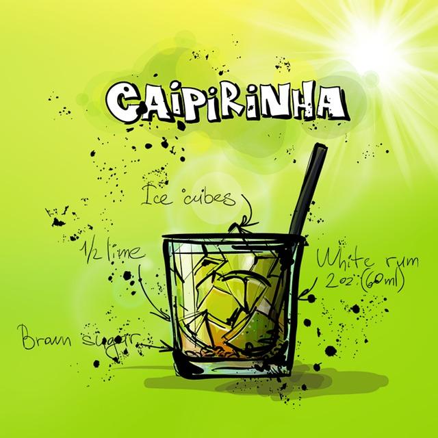 Zeichnung Caipirinha