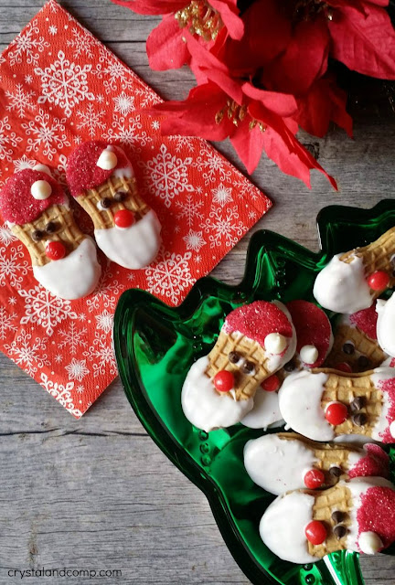 no-bake-santa-cookies