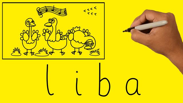 Szavakból rajzok – LIBA