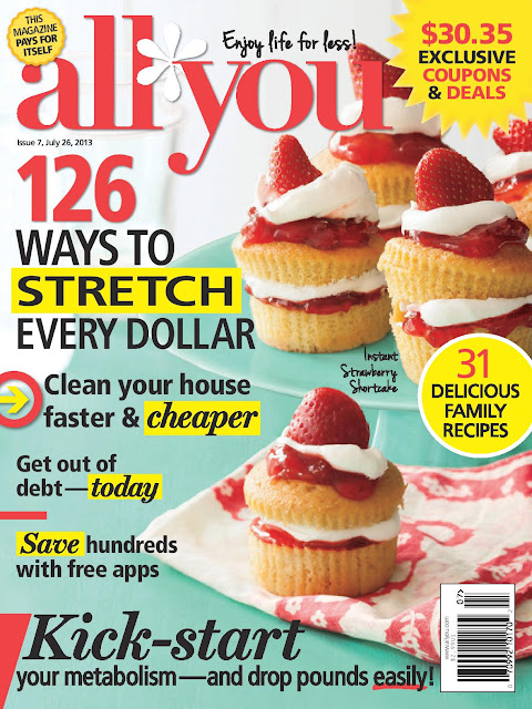 All You Magazine - great tips, ideas, inspiration and most importantly SAVINGS! Lots of coupons.