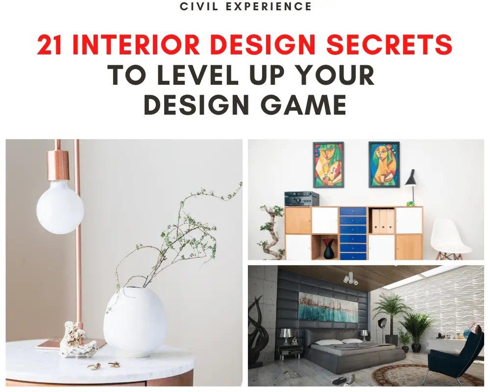 21 Interior Design Secrets to Level up Your Design Game  | Interior Design Secrets