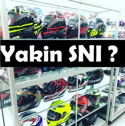 Pengetahuan Helm berstandar SNI