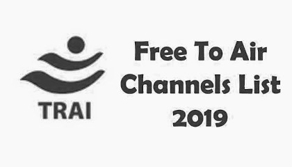 TRAI: Complete List of 230 FTA Free to Air Channels List, My