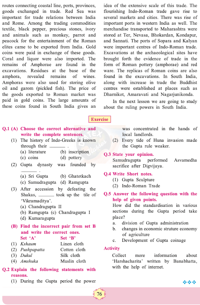 chapter 10 - Changing Times Balbharati solutions for History 11th Standard Maharashtra State Board