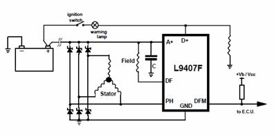 Car Alternator Voltage Regulator Datasheet