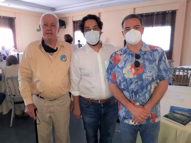 Ricardo Lujambio, Pablo y Agustín Landa.
