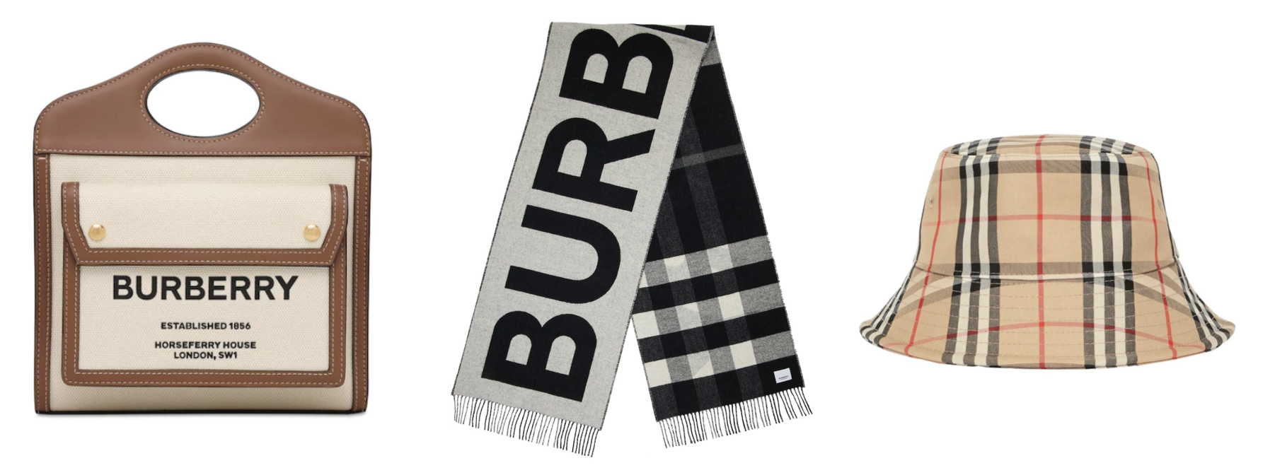 BURBERRY-scarf-hat-圍巾
