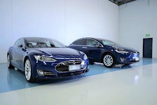 Tesla Photo shoot