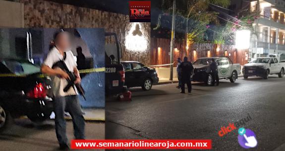 Balean la fachada de céntrico hotel de Playa del Carmen