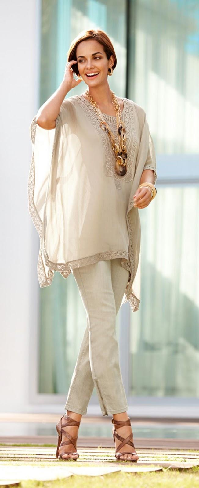 f1f074f4d3 Para las más arriesgadas les proponemos llevar de una manera elegante  pantalones con estampados como tribales