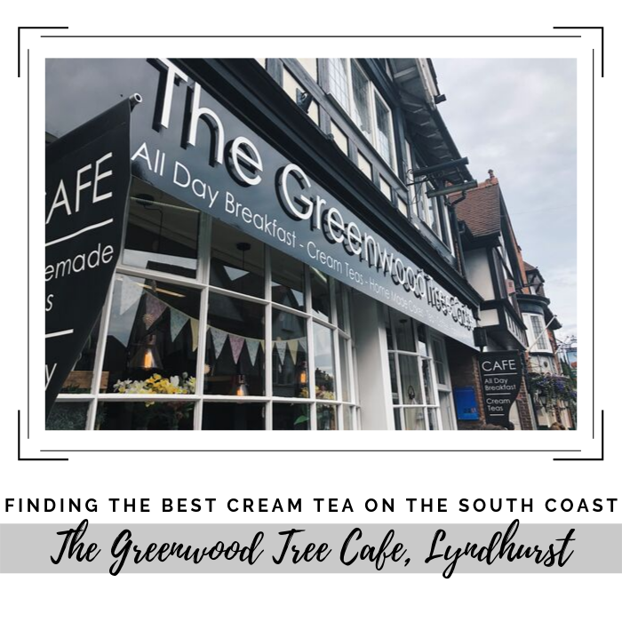 Finding the best cream tea on the south coast: The Greenwood Tree Cafe. A review of local cream teas based on five different judging criteria
