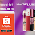 Get up to 50% off on beauty essentials for Maybelline x Shopee's International Women's Day