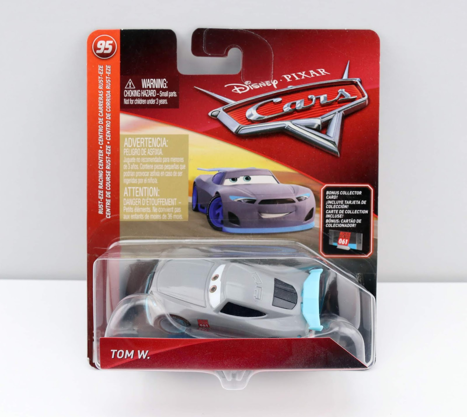 pixar mattel cars tom w. review