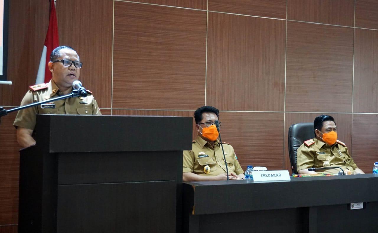 Sulpakar Ingatkan ASN Pemkab Lampung Selatan Jaga Netralitas Saat Pilkada