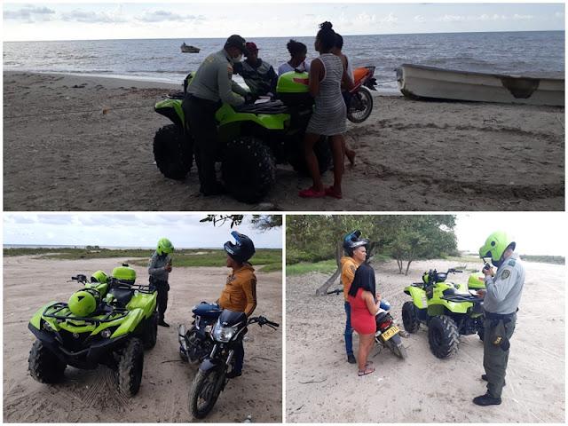 hoyennoticia.com, Degua adelanta controles en playas de Riohacha y Avenida Primera