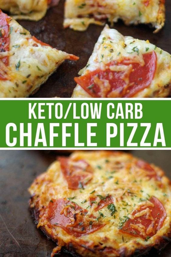 Best Keto Pizza Chaffle Recipe