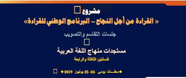 العرض التقديمي حول مستجدات منهاج اللغة العربية بالمستويين الثالث والرابع من التعليم الإبتدائي