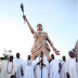 Check out the tallest statue in Nigeria as unveiled by Ooni of Ife (PHOTOS)