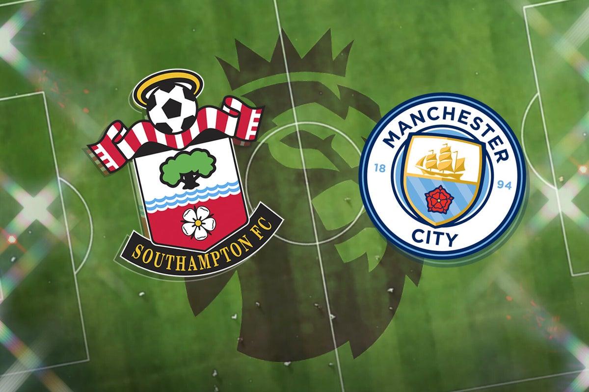بث مباشر مباراة مانشستر سيتي وساوثهامبتون