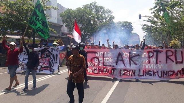 Demo PT RUM Yang di Ikuti 10ribu Warga Wonogiri Masih Menunggu Hasil Mediasi